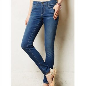 Anthropologie Pilcro Serif Legging Skinny Jeans 25